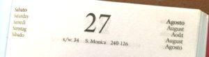 27 agosto